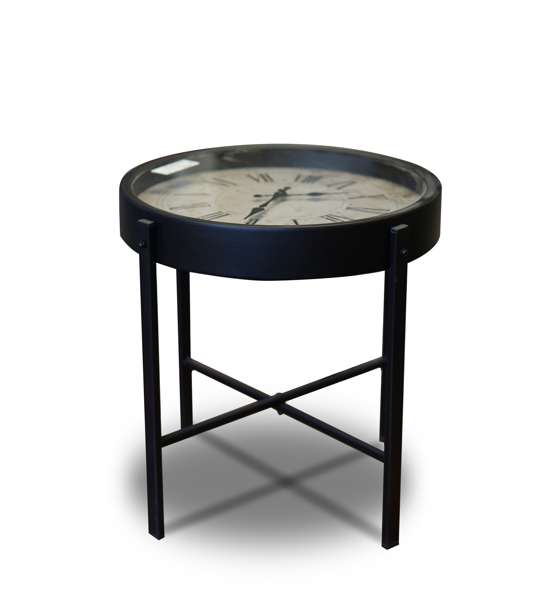 HZ1300620 Clock Side Table, ...