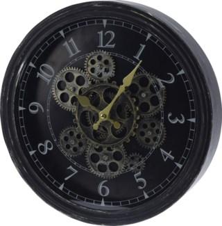 HX9900120 Rotating Gears Wall Clock, 14.6x2.7x14.6 in.