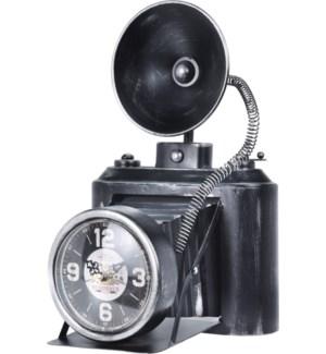 """Table Clock Metal Photo Camera, Weight 900 Gram"""