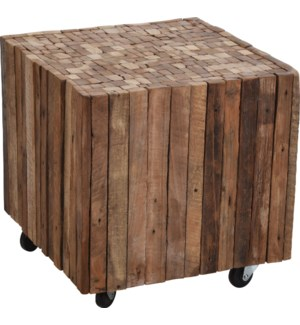 J11300690 Wood Side Table Small