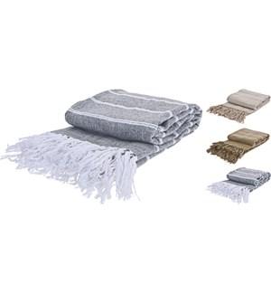 A35510200 Striped Blanket