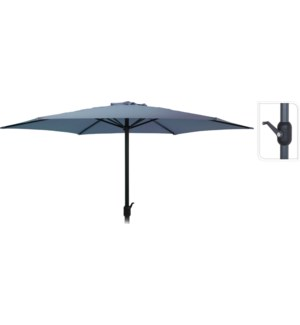 """FD4300640 UMBRELLA DIA 3MTR IN DARK BLUE, HEIGHT"""