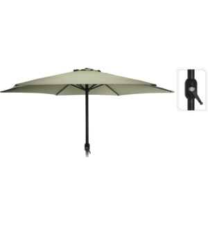 """FD4300650 UMBRELLA DIA 3MTR IN GREEN, HEIGHT: 24"""