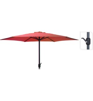 """FD4300660 UMBRELLA DIA 3MTR IN RED, HEIGHT: 248C"""