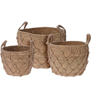 """NETTED BASKET SET/3, LC"""