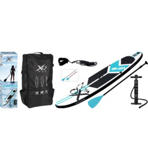 """""""Xqmax Sup Pointed Model 1 Fin/1 Us Fin. Wht, blu&blk."""""""
