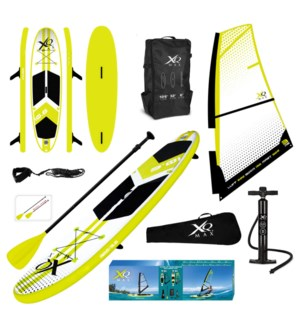 Xqmax Sail Sup Pointed Model 2 Us Fin Combo Set Dbl Layer.