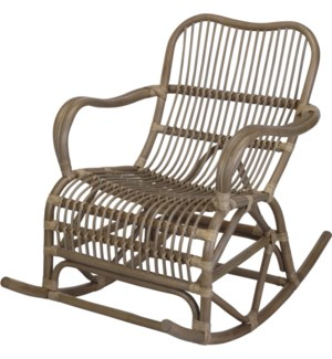 """J11300490 ROCKING CHAIR KUBU, 106X68X87CM"""