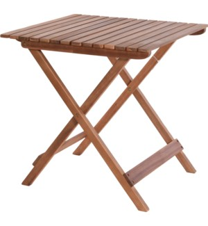 """VT2200340 WOODEN TABLE FOLDABLE, ACACIA WOOD OIL"""