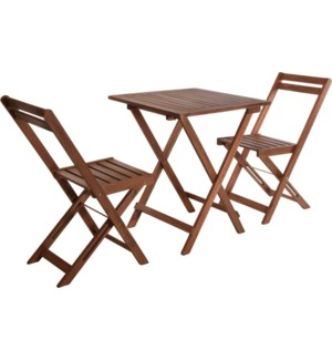 """VT2200350 FURNITURE BISTRO SET OF 3PCS FOLDABLE,"""
