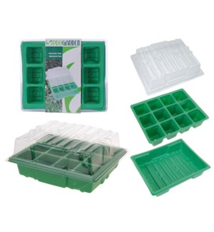 GREENHOUSE TRAY 3PC SET