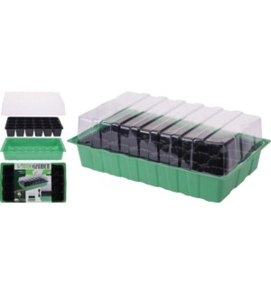 GREENHOUSE SEED BOX 4PC SET