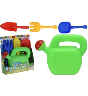 """S30001500 GARDEN SET PP FOR KIDS, WATERING CAN W, LC"""