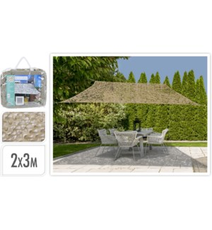 """X61500170 SHADE CAMOUFLAGE RECTANGLE SAND, SIZE"""