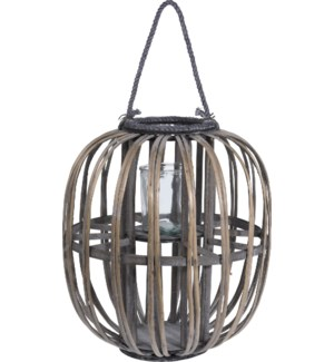 """432000040 LANTERN HALF WILLOW, GREY WASHED COLOU"""