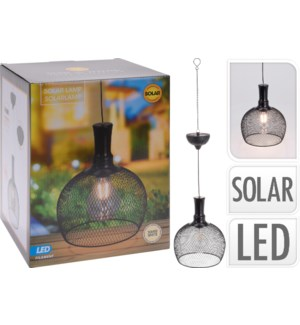 """DS1000020 SOLAR HANGING LIGHT, METAL, SIZE 185X1, LC"""