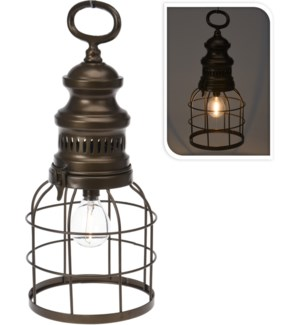 """""""Lantern Led, Iron, 2X Aaa Batteries Not Included."""""""