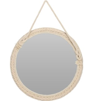 """NB3305160 MIRROR WITH ROPE ROUND SHAPE, LC"""