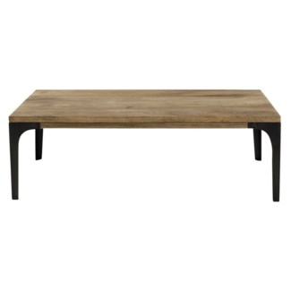 Jax Coffee Table, Natural, Mangowood, 43x23.6x13.7inch