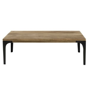 Jax Coffee Table, Natural,100% hardwood (Mango), India, 43x23.6x13.7inch