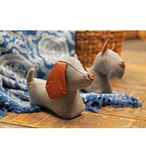 Doorstop dog assortment -  12.4x5.4x7.9in.