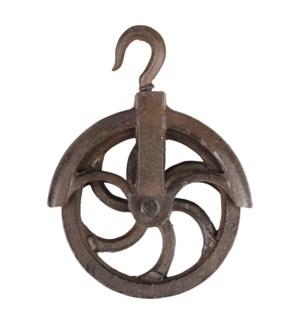 Pulley wheel hook