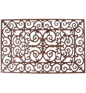 Doormat cast iron L. Cast iron