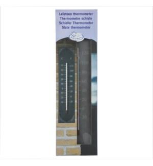 """Slate thermometer classic. Slate, glass, kerosine. 10,0x0,6x45,0cm. oq/6,mc/18 Pg.96"""