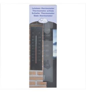 """Slate thermometer. Slate, glass, kerosine. 10,0x0,6x45,0cm. oq/6,mc/18 Pg.96"""