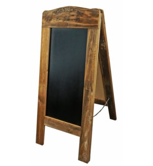 Rustic Wooden Blackboard