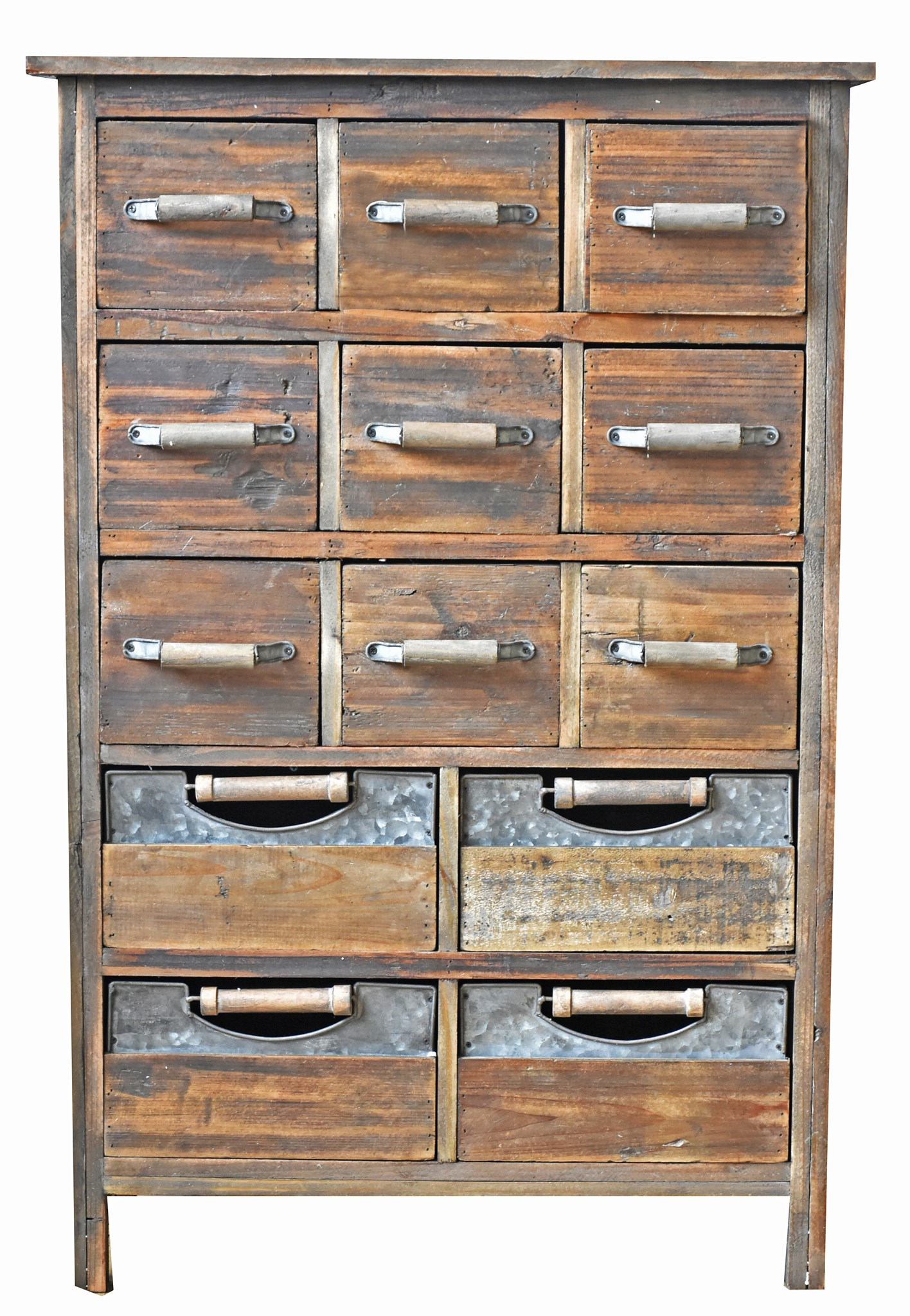 Best wood for indoor furniture House 13 Multi Drawer Rustic Wood Cabinet 26x12x39 Inches made From Very Old Recycled Wood For North American Country Home 13 Multi Drawer Rustic Wood Cabinet 26x12x39 Inches made From Very