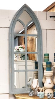 Chapel Mirror, Rustic White - Coming Spring 2019 19.2x1.18x50.4 inches