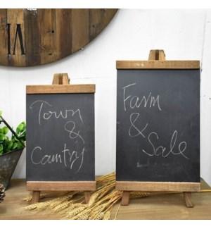 Wooden blackboard