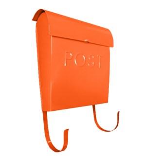 Orange Euro Post Mailbox