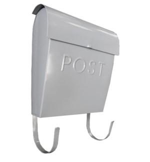 Grey Euro Post Mailbox