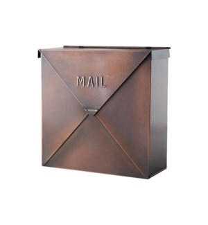 Rockford Mailbox Copper Finish