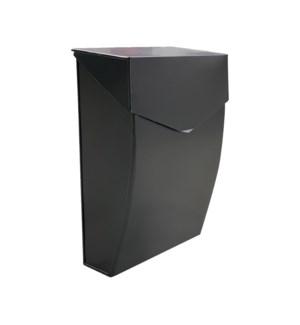 Bradly Steel Mailbox Black