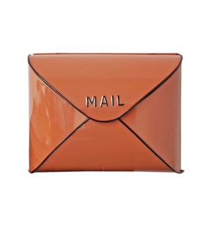 Terracotta Envelope Mailbox