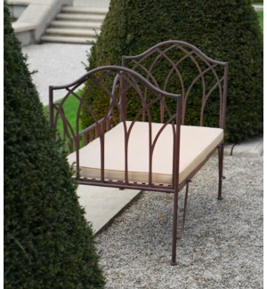 Garden bed metal. Metal. 115,0x65,5x90,2cm. oq/1,mc/1 Pg.109    *Cushions not included - FD