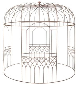 Gazebo metal - (118.1x118.1x118.1 inches)