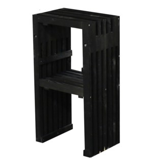Bar chair wood black