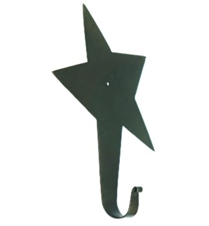 Star Hook Large Handforged 11x8x2inch. *LAST CHANCE!* On sale 35% off