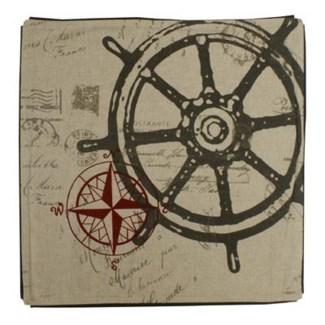 Nautical cushion cover 20x20inch