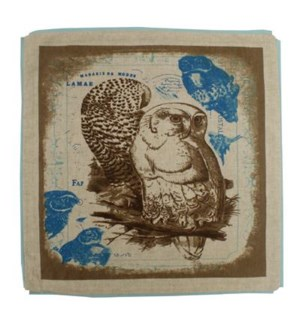 Owl Cushion Cover OS