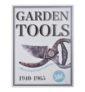 Ad sign gardentools. Alumin OS