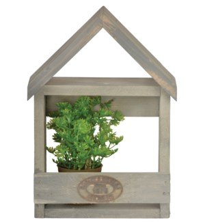 Wall planter house S. Pinewood