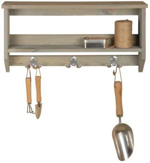 """""""Shelf with hooks L. Pinewood, FD, OS"""""""