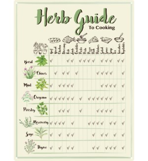 Guide to cooking w herbs
