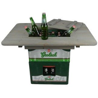 Beer crate table - 31x22.75x4.5 inches