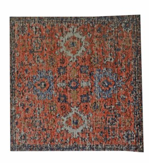 Sample Anatolia Rust Carpet, 18x18